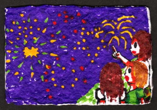 平塚市立松延小学校 − 高橋 優太 高橋 優太 高橋 里英 高橋 龍己 手づくり絵はがきコンクー